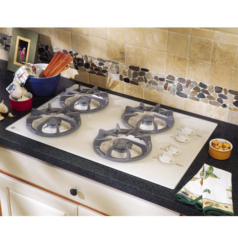 Gas Cooktop With Sealed Burners