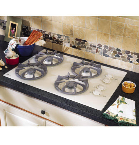 Ge Profile 30 Built In Gas Cooktop With Sealed Burners And Right Side Controls