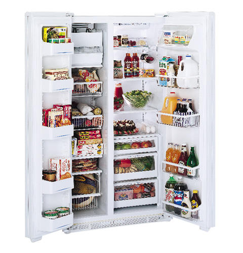 GE Profile™ 23.5 Cu. Ft. CustomStyle™ Side-by-Side Refrigerator