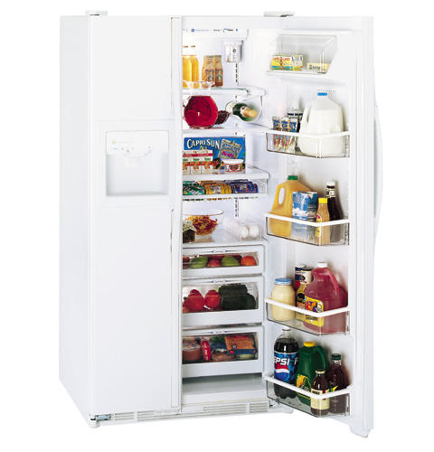 GE Profile Performance™ 28.4 Cu. Ft. Side-by-Side Refrigerator with Dispenser and Water By Culligan™