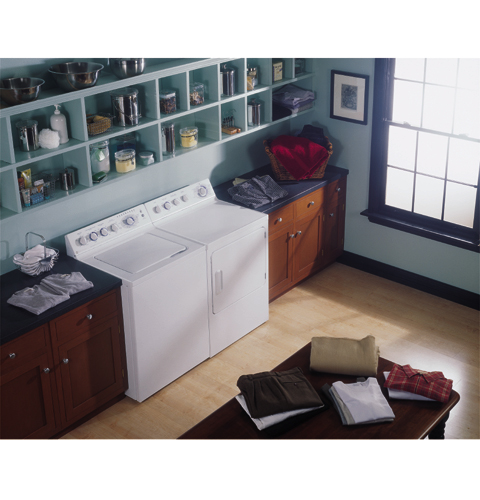 GE Profile Prodigy™ Super 7.0 Cu. Ft. Capacity Electric Dryer