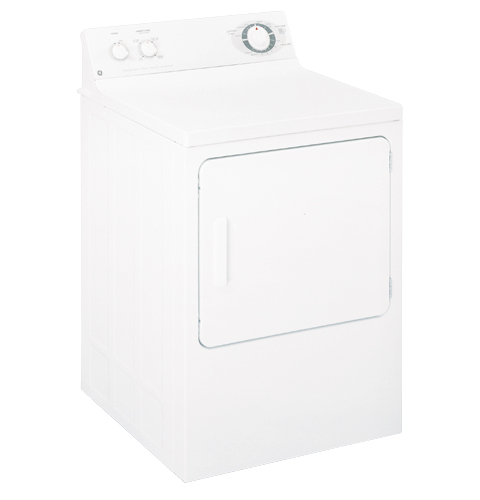 ge® extra large 6 0 cu ft capacity electric dryer dbxr453eaww product image