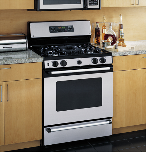 Ge Profile Spectra 30 Quot Self Clean Free Standing Gas Range