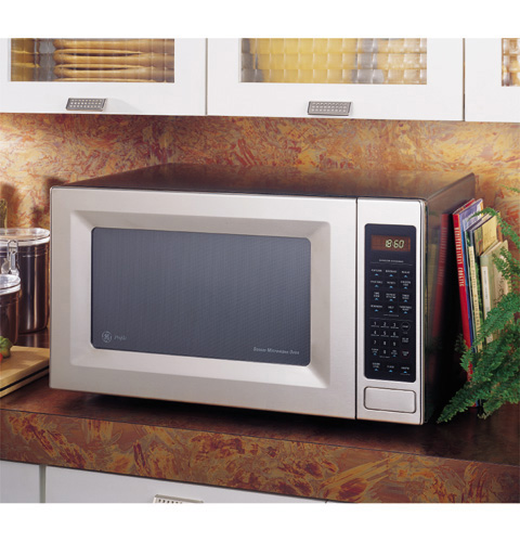 Ge Profile Countertop Microwave Oven Je1860sb Ge