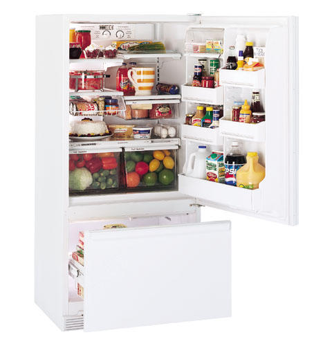 GE Profile™ 17.6 Cu. Ft. Bottom-Freezer Refrigerator with Freezer Compartment Drawer
