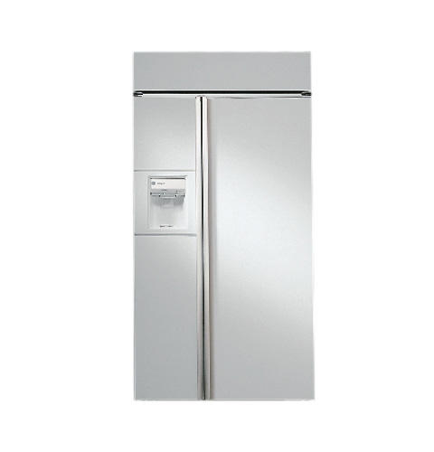 Zisw42dc Ge Monogram 42 Built In Side By Refrigerator With White Dispenser And Smarer Filtration Liances