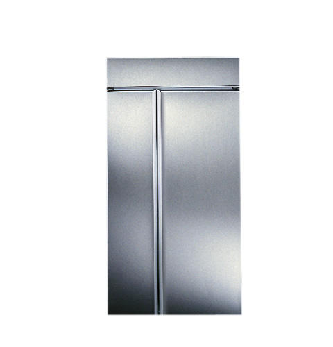 Zis42nc Ge Monogram 42 Built In Side By Refrigerator With Automatic Icemaker And Smarer Filtration Liances