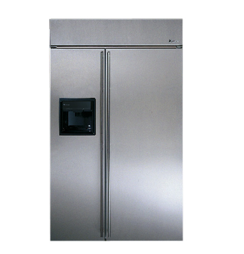 Ge Monogram 174 48 Quot Built In Stainless Steel Side By Side
