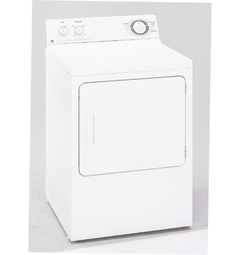GE® Extra-Large 6.0 Cu. Ft. Capacity Electric Dryer