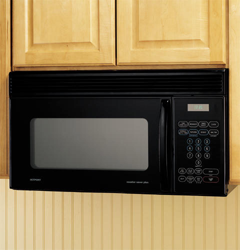 Hotpoint® 1. 4 cu. Ft. Over-the-range microwave oven | rvm1435wk.