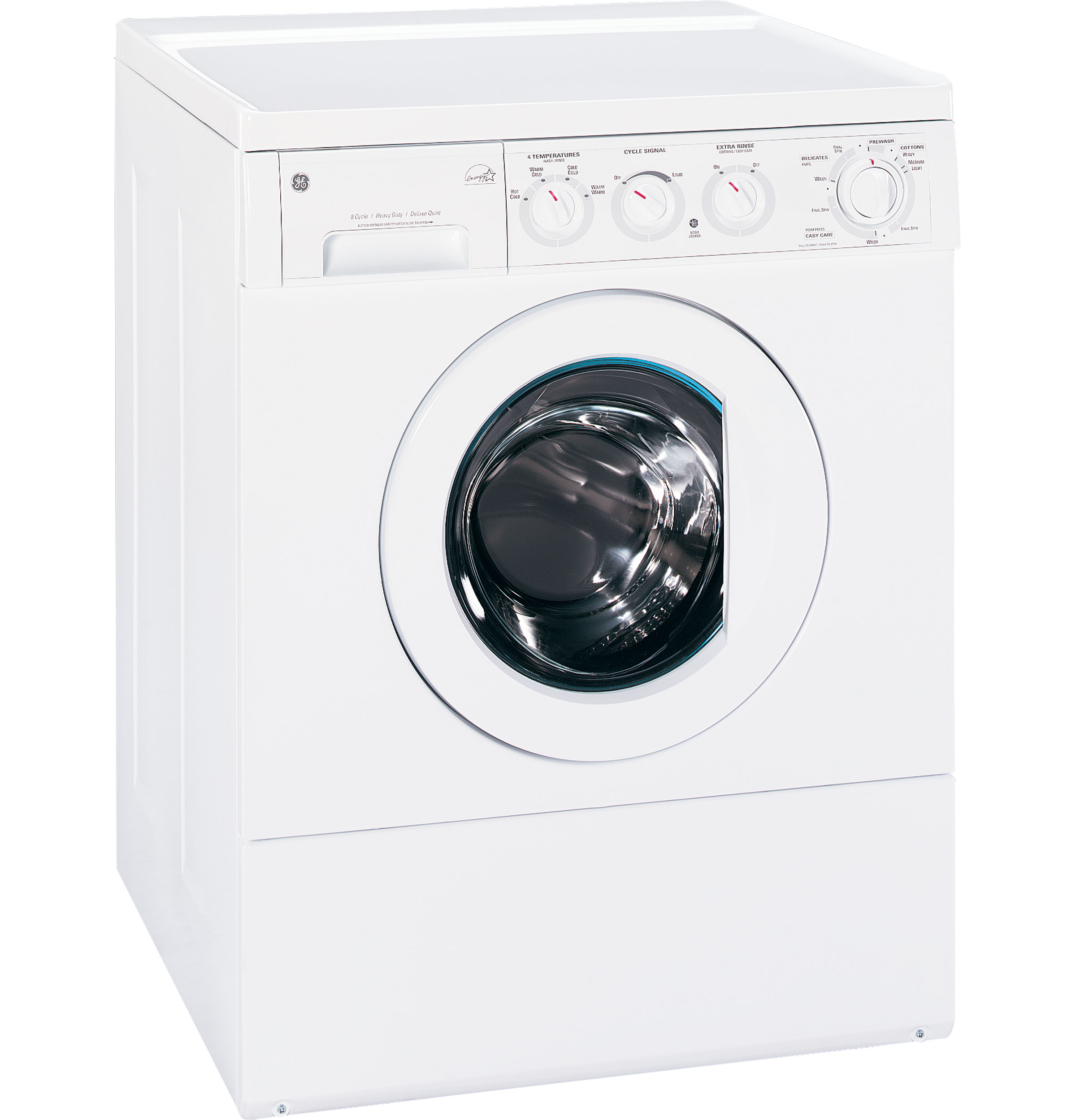 Ge 174 Extra Large Frontload Washer With Stainless Steel