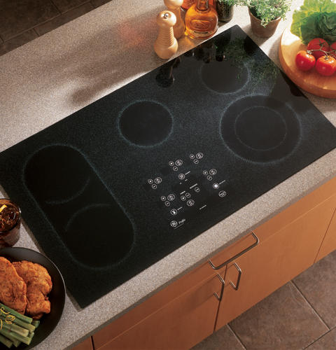 GE Profile™ Built-In CleanDesign Electric Cooktop