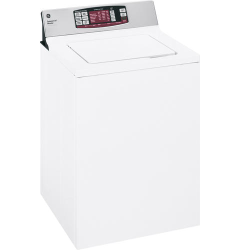 GE® 3.5 Cu. Ft. Capacity Commercial Washer with Stainless Steel Basket