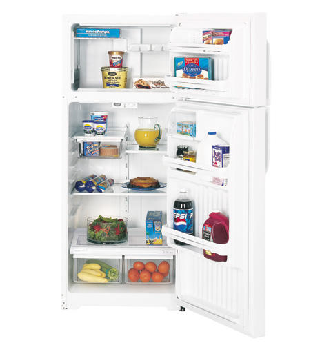 GE® 17.6 Cu. Ft. Top-Freezer Refrigerator