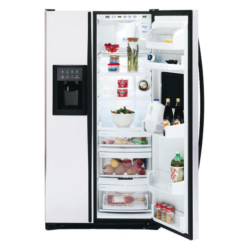 GE Profile Arctica CustomStyle™ 22.7 cu. Ft. Stainless Side-By-Side Refrigerator