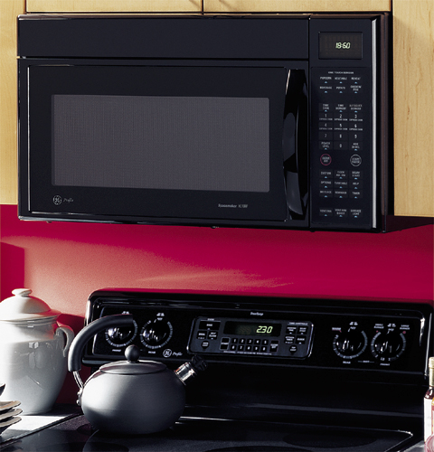 Ge Profile Spacemaker 174 Xl1800 Microwave Oven With Outside