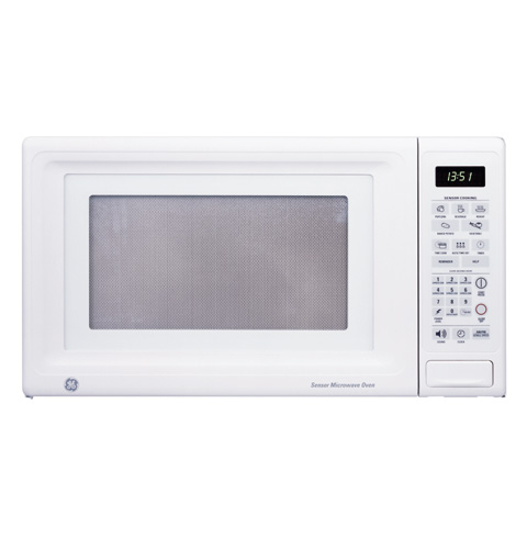 Countertop Microwave Placement : JES1351WB - GE? Countertop Microwave Oven - The Monogram Collection
