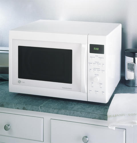 GE Profile? Countertop Convection/Microwave Oven JE1590WC GE ...