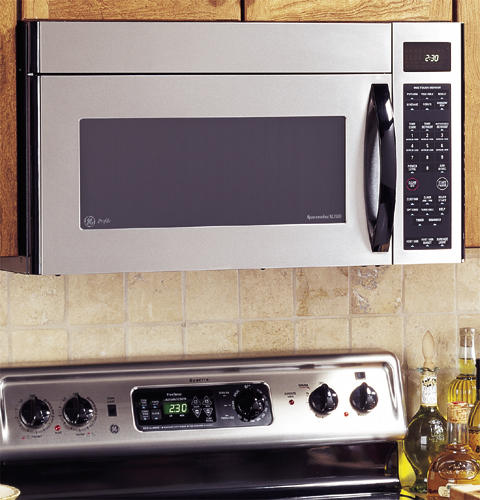 ge profile spacemaker xl1800 microwave oven with. Black Bedroom Furniture Sets. Home Design Ideas