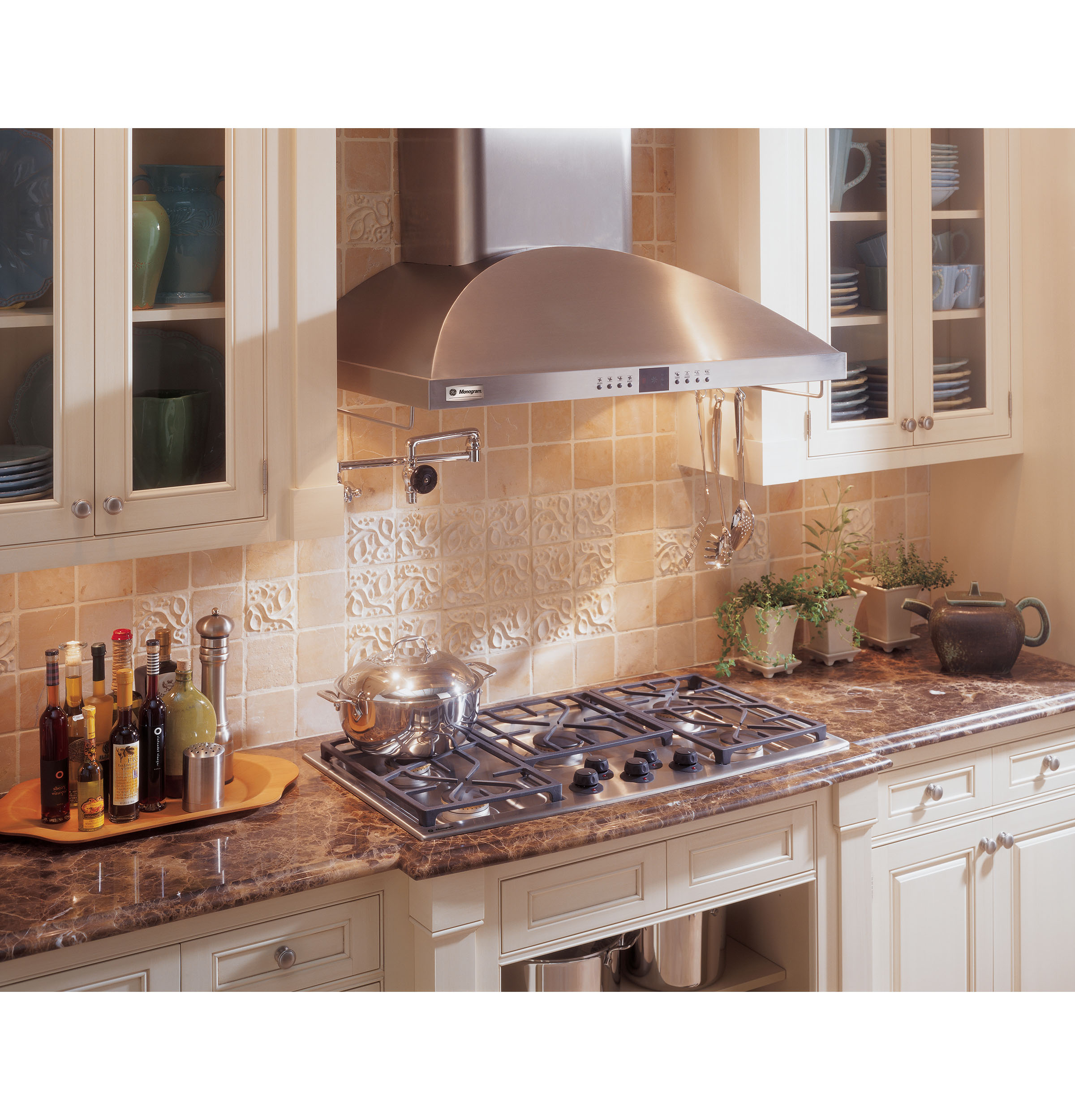 Kitchen Stove Vent Monogram 36 Wall Mounted Vent Hood Zv950sdss Ge Appliances