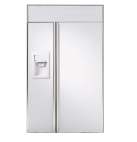 Ge Monogram 174 48 Quot Built In Side By Side Refrigerator With