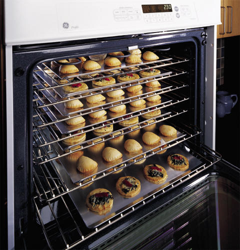 """Rack For Microwave Convection Oven: GE Profile™ 30"""" Built-In Double Microwave/Convection Oven"""