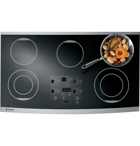 Zeu36rsfss Monogram 36 Digital Electric Cooktop Liances
