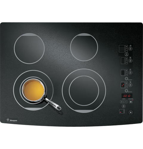 Zeu30rbfbb Ge Monogram 174 30 Quot Digital Electric Cooktop