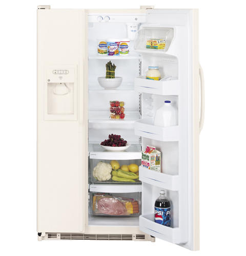 GE® 24.9 Cu. Ft. Side-By-Side Refrigerator with Dispenser