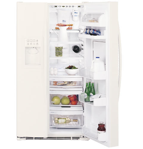 GE Profile Arctica™ 28.7 Cu. Ft. Side-By-Side Refrigerator with Refreshment Center