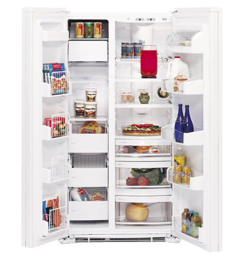 GE Profile Arctica CustomStyle™ Side-By-Side Refrigerator