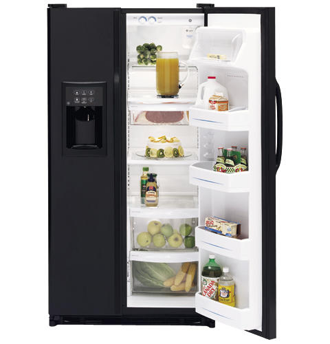 GE® 24.9 Cu. Ft. ENERGY STAR® Side-By-Side Refrigerator with Dispenser
