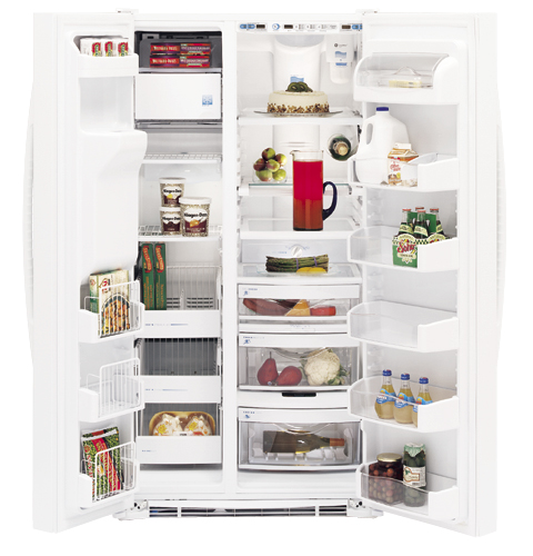 GE Profile Arctica™ Side-By-Side Refrigerator