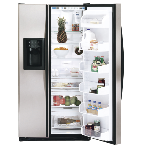 GE Profile Arctica™ 25.3 Cu. Ft. Stainless Side-By-Side