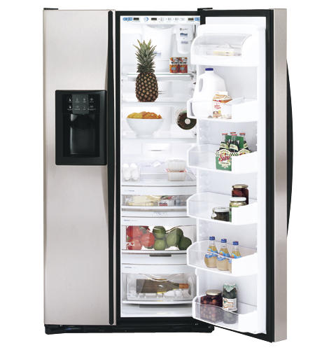 """ge profile arcticaâ""""¢ 26 6 cu ft stainless side by side product image product image"""