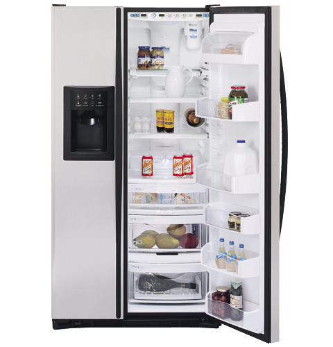 GE Profile Arctica CustomStyle™ 22.6 Cu. Ft. Stainless Side-By-Side Refrigerator