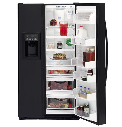GE Profile Arctica™ Side-By-Side Refrigerator | PSS25MGNBB ... on