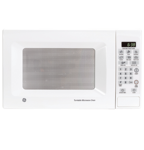 Ge 174 Countertop Turntable Microwave Oven Jes638wf Ge