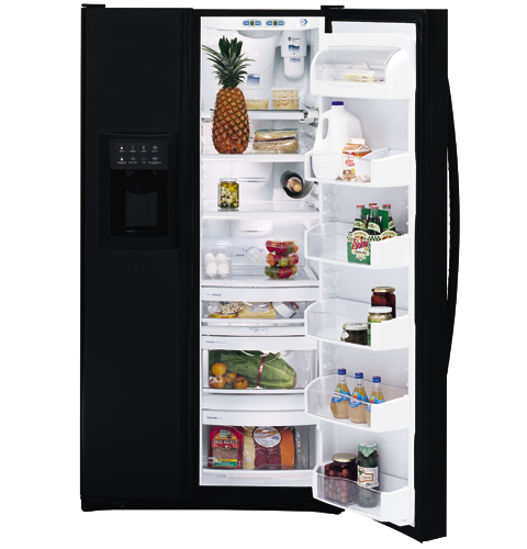GE Profile Arctica™ 25.4 Cu. Ft. Side-By-Side Refrigerator ... on