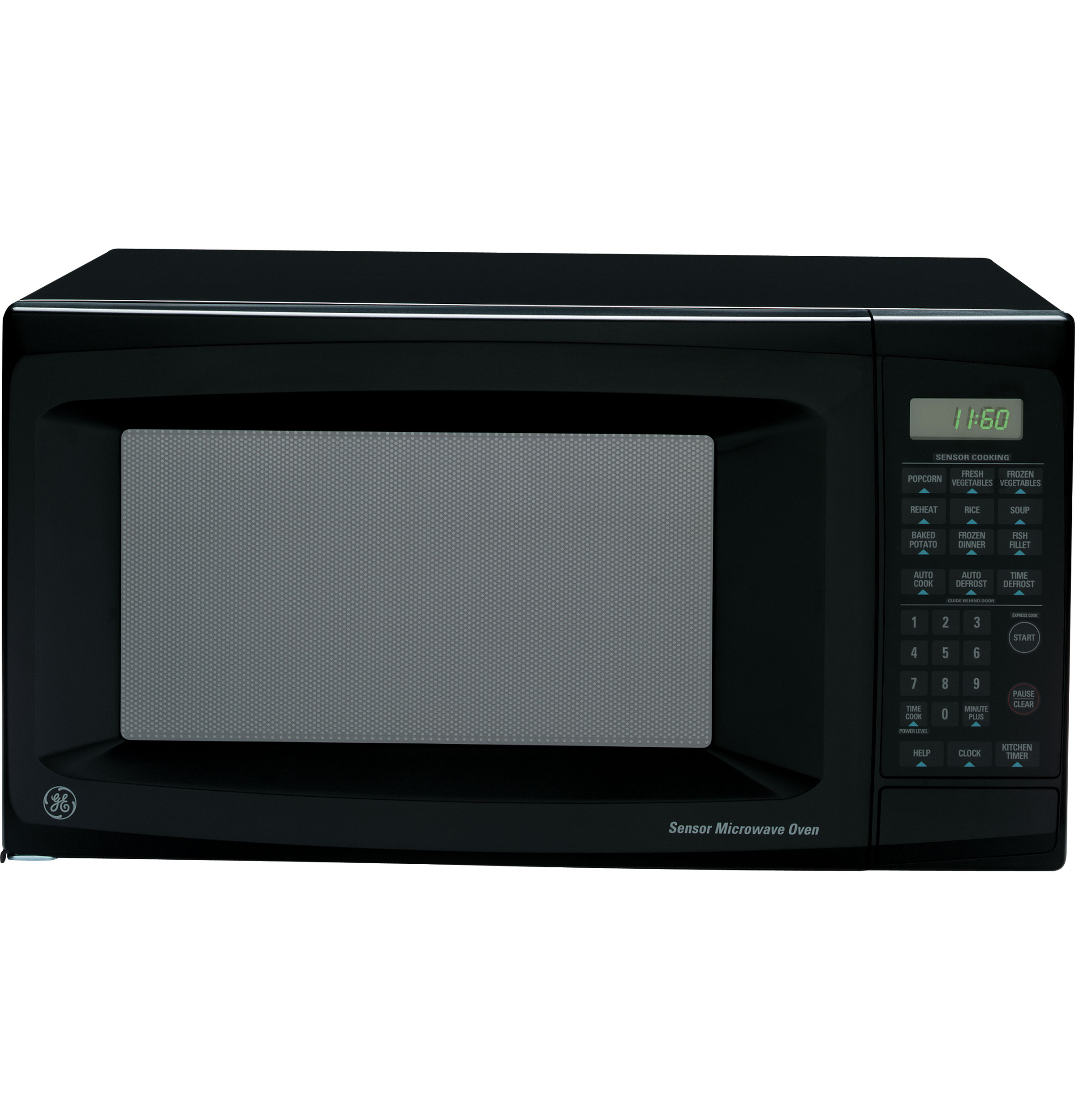Ge 174 1 1 Cu Ft Countertop Microwave Oven Je1160bd Ge