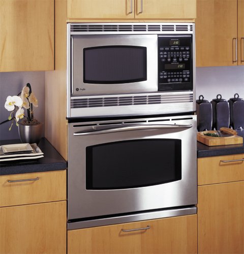 Ge Profile 30 Quot Built In Double Microwave Convection Oven