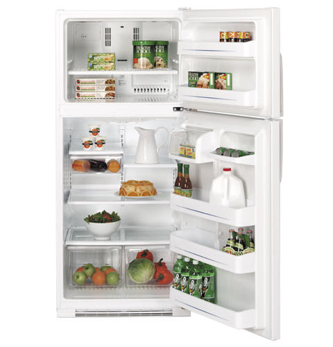 GE® 20.0 Cu. Ft. Capacity Top Freezer Refrigerator