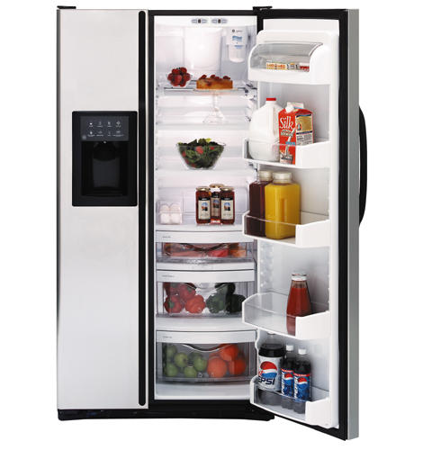 GE® 26.7 Cu. Ft. Stainless Side-by-Side Refrigerator