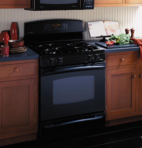 GE Profile™ Free-Standing Self-Clean Convection Gas Range with Warming Drawer