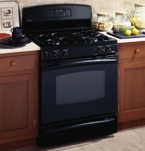 GE Profile™ Free-Standing Self-Clean Gas Range with Warming Drawer