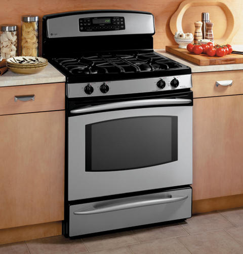 Ge Profile Free Standing Self Clean Convection Gas Range