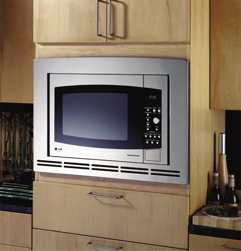 Countertop Convection Oven With Microwave : JE1590SH - GE Profile? Countertop Convection/Microwave Oven - The ...