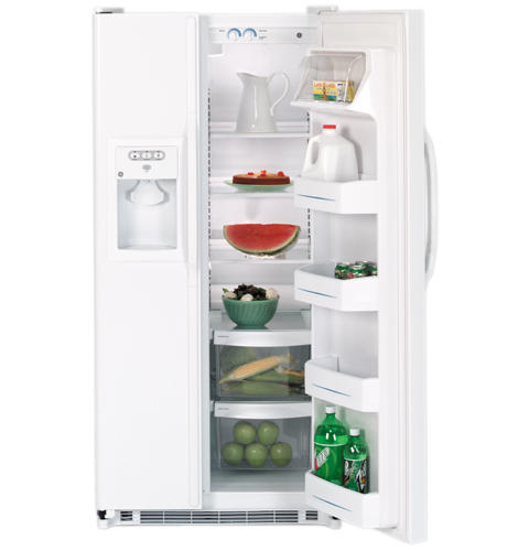 GE® 19.9 Cu. Ft. Capacity Side-By-Side Refrigerator with Dispenser