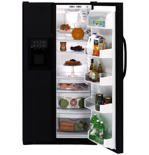 GE ENERGY STAR® 26.7 Cu. Ft. Side-by-Side Refrigerator