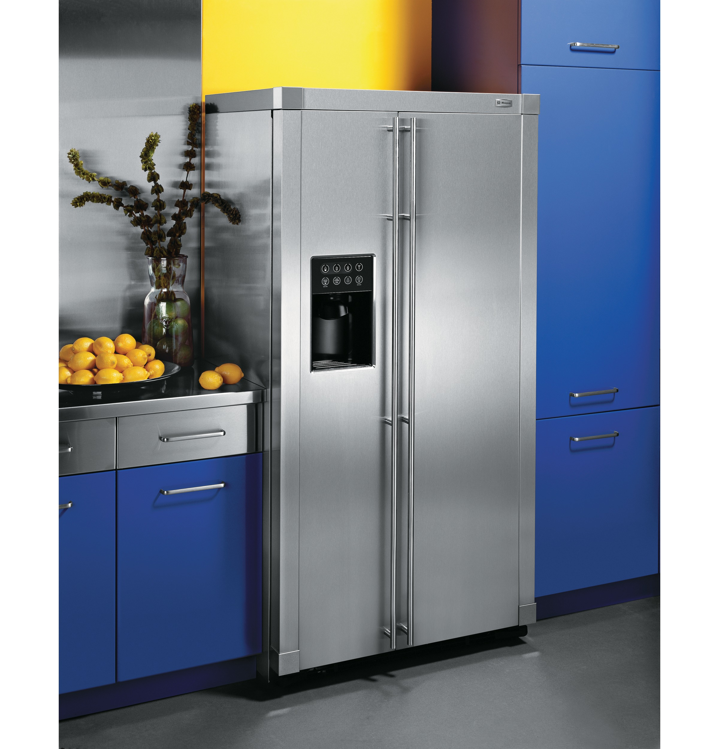 Free-Standing Side-by-Side Refrigerator